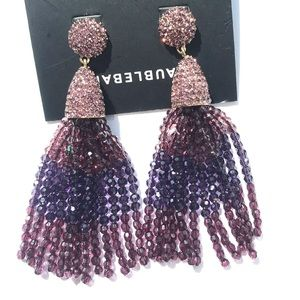 Baublebar gem piñata tassel earrings